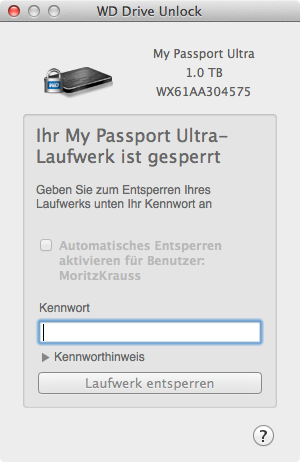 Unlocker my passport Western Digital: My Passport ultra Überblick und Test Unlocker