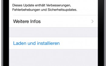 iOS 7.1.1 kleines Update, aber umso wichtiger. Warum?