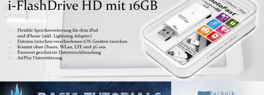 Gewinnspiel: i-FlashDrive 16 GB Bundleset von PhotoFast
