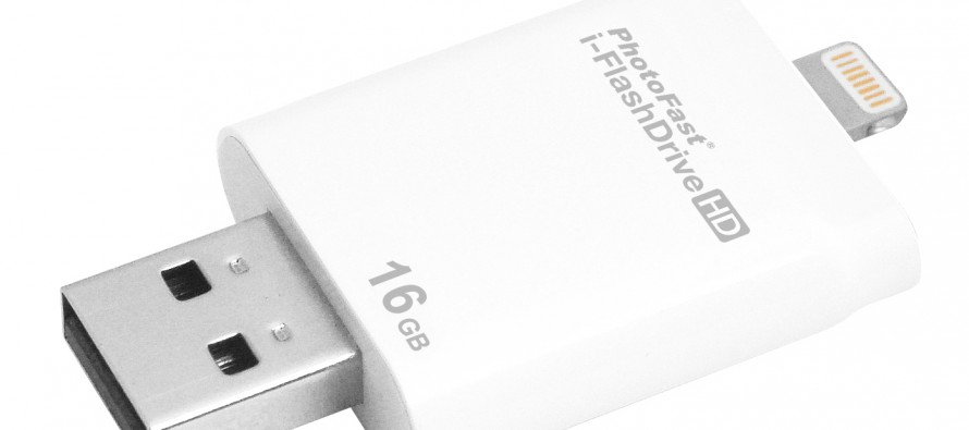 i-FlashDrive 8 GBvon PhotoFast getestet