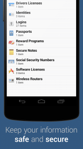 2 1password Androidversion von 1Password getestet 2
