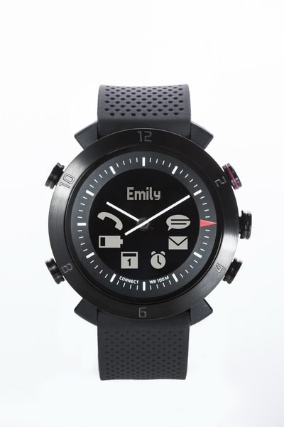 Cogito watch final-Straight On Black 20140106 full icons Cogito Smartwatch: Cogito classic unter der Lupe Cogito watch final Straight On Black 20140106 full icons