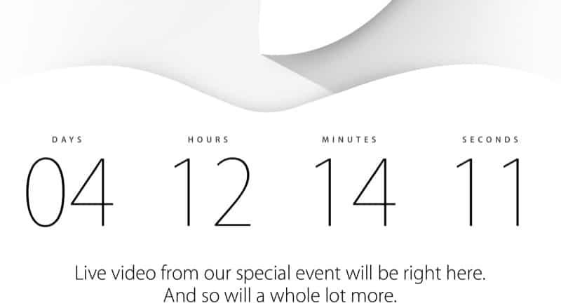 Apple-Live-Stream 9. september Apple bestätigt Event für 9. September – was ist zu erwarten? Apple Live Stream