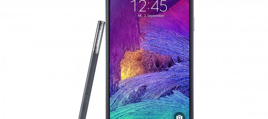 Samsung Galaxy Note 4 Verkaufsstart früher als geplant