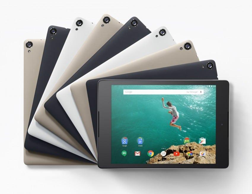 Nexus 9 - Bildquelle: Google nexus 9 Nexus 9 von Google vorgestellt N9 grid1 l 850x654