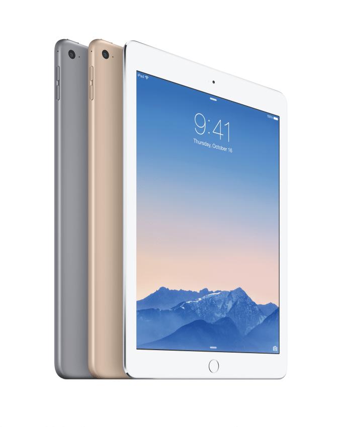 iPad Air 2 Konfigurationen iPad iPad Air 2 und iPad mini 3 enthüllt iPadAir2 3up Lockscreen PRINT 672x850