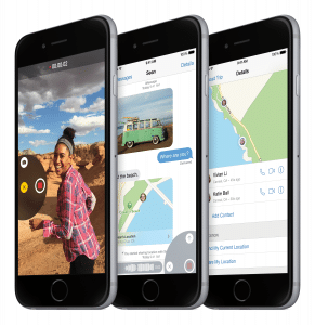 iOS 8.1 wird am Montag veröffentlicht ios 8.1 iOS 8.1 wird am Montag veröffentlicht – vermisste Funktion kehrt zurück iPhone6 34FR SpGry 3 Up iOS8 PRINT 291x300