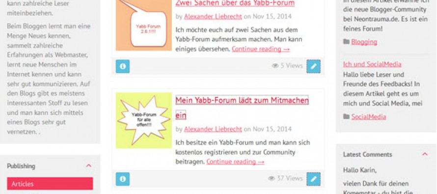 WordPress – Subrion CMS – Vergleich
