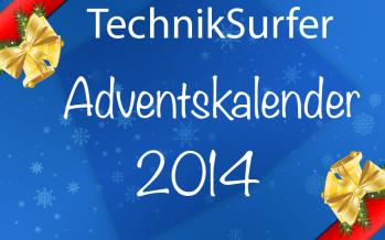 Große Aktion: Der TechnikSurfer Adventskalender 2014