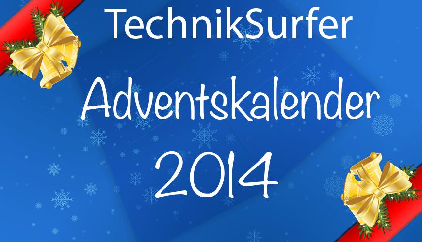 TechnikSurfer Adventskalender adventskalender Große Aktion: Der TechnikSurfer Adventskalender 2014 tag0