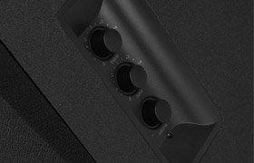 Regler des Edifier M3250 edifier m3250 Getestet: Edifier M3250 2.1 Lautsprechersystem B00GBN4U6K 03