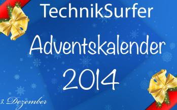 Adventskalender Tag 23: Tablet das 2. – Samsung Galaxy Tab 4
