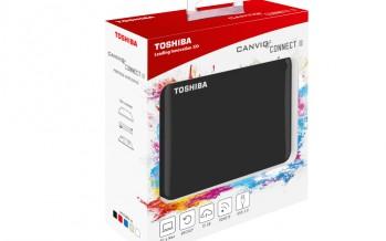 Toshiba: Neue portable Festplattenserie Canvio Connect II