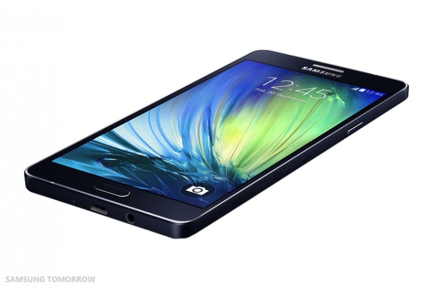 Samsung Galaxy A7 Galaxy A7 Samsung stellt das Galaxy A7 vor SM A700FSS 007 Dynamic1 Black 850x566