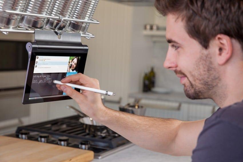 Lenovo YOGA Tablet 2 lenovo CES 2015: Lenovo stellt neue Tablets und PCs vor handwriting 1 850x567