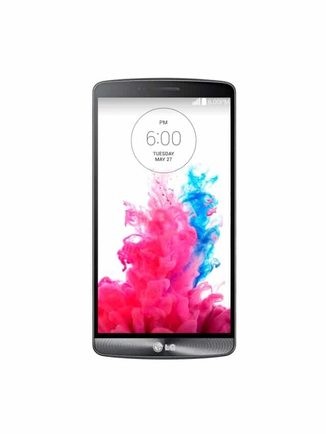 LG G3 gestochen scharfes Display lg g3 Das LG G3 im Test Bild LG G3 Metallic Black Front 638x850