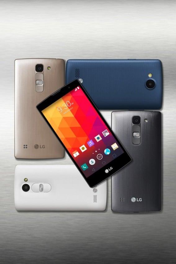 Neue Smartphonereihe von LG auf dem MWC LG MWC 2015: LG stellt neue Mittelklasse Smartphones vor Bild LG New Range Shot 4 567x850
