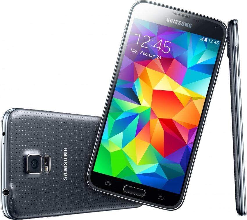 Samsung Galaxy S5 getestet galaxy s5 Testbericht: Das Samsung Galaxy S5 Samsung GALAXY S5 charcoal black 01 850x755