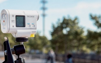 Sony HDR-AS100VB Bike Mount Action Cam getestet