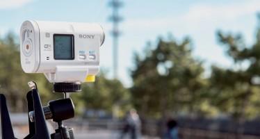 Sony HDR-AS100VB Bike Mount Action Cam getestet