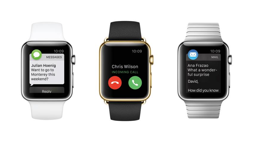 Apple Watch ab 10. April vorbestellbar Apple Apple Event vom 9. März – Apple Watch, neues MacBook und Co AplWatch 3Up Features PR PRINT 850x479