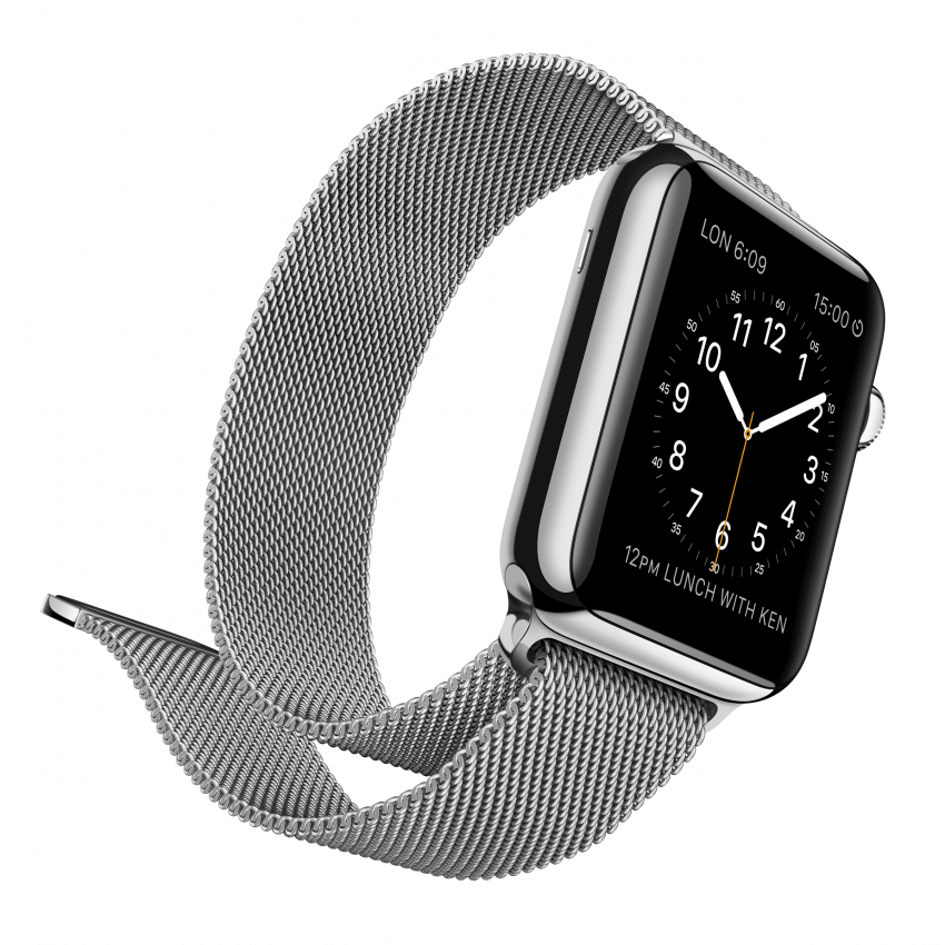 Apple Event vom 9. März Apple Apple Event vom 9. März – Apple Watch, neues MacBook und Co AplWatch ClockChrono PR PRINT 850x850