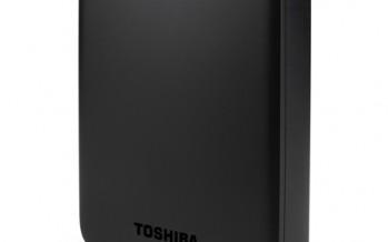 CeBIT 2015: Toshiba mit externen Festplatten und USB-Sticks
