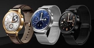 Huawei Watch vorgestellt Huawei MWC 2015: Huawei stellt neue Geräte vor HUAWEI Watch