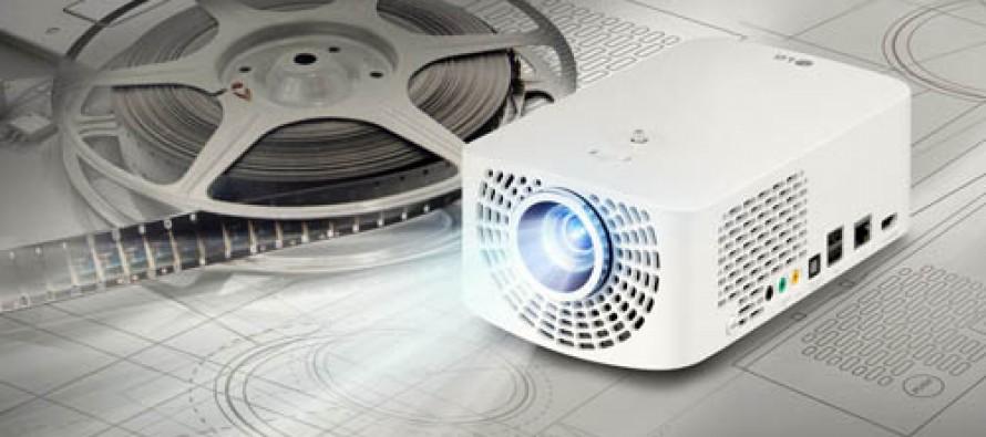 Neue LED-Minibeamer von LG herausgebracht