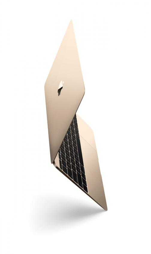 MacBook in gold Apple Apple Event vom 9. März – Apple Watch, neues MacBook und Co MacBook OP90 Tilt Gld PRINT 504x850