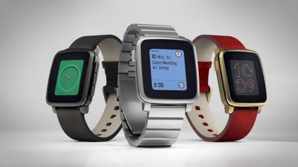 Pebble Time Steel vorgestellt pebble MWC 2015: Pebble Time Steel vorgestellt PebbleTime Steel 01 600x337