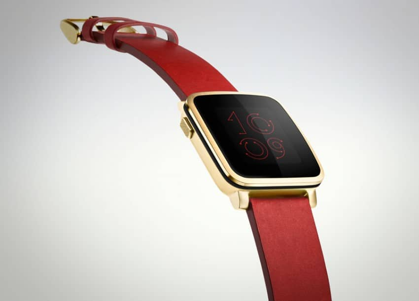 Pebble Time Steel pebble MWC 2015: Pebble Time Steel vorgestellt PebbleTime Steel 02 850x610