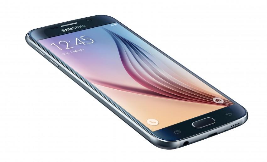 Samsung Galaxy S6 jahresrückblick Jahresrückblick 2015 – das Jahr der Höhen und Tiefen SM G920F 013 L Front dynamic Black Sapphire 850x515
