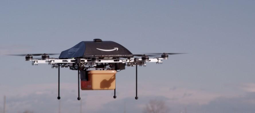 Amazon erhält Testerlaubnis für Drohnenflüge
