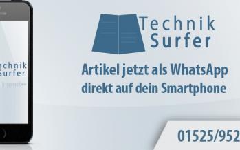 TechnikSurfer Artikel jetzt als WhatsApp