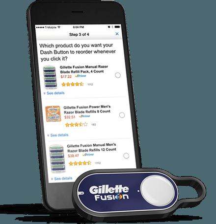 Dash wird mit dem Smartphone konfiguriert amazon Amazon Dash-Buttons: Kaufen auf Knopfdruck – kein Aprilscherz DB howitworks v3