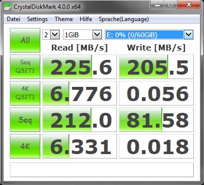 Toshiba Transmemory-EX II mit einer Größe von 64 GB Transmemory-EX II Toshiba THNV64OSUSILV Transmemory-EX II 64GB Speicherstick USB 3.0 Unbenannt
