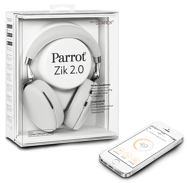 Parrot Zik 2.0 Verpackung Parrot Zik Parrot Zik 2.0 im Testbericht blanc