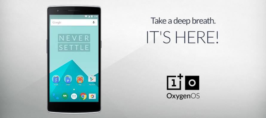 OnePlus veröffentlicht eigenes Betriebssystem OxygenOS
