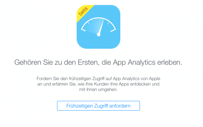 Startschuss für die Betaversion von Apples App-Analytics App-Analytics Apple startet App-Analytics Beta Appanalytics Beta 680x425