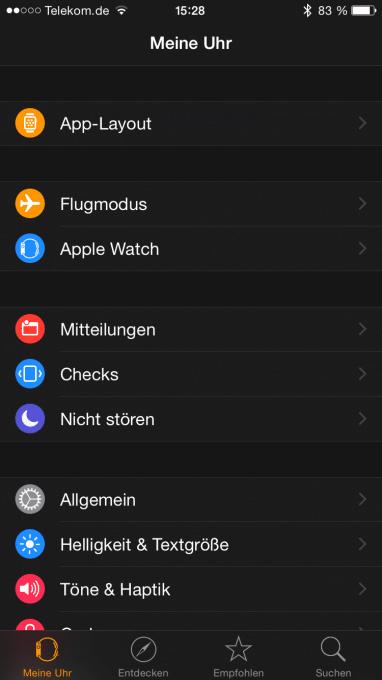 Leichte Einrichtung mit der Apple Watch Companion-App auf dem iPhone apple watch Ist die Apple Watch schon ausgereift? – die Smartwatch im Alltagstest IMG 6843 382x680