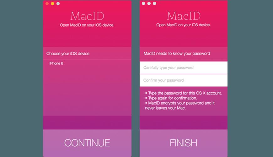 Konfiguration von MacID schnell und einfach macid MacID für das schnelle Entsperren vom Mac – Testbericht MacID Konfiguration