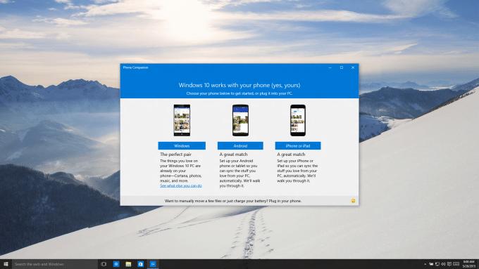 Windows 10 wird mit iOS, Android und Windows Phones zusammenarbeiten Windows 10 Cortana kommt für iOS und Android Screenshot1 680x383
