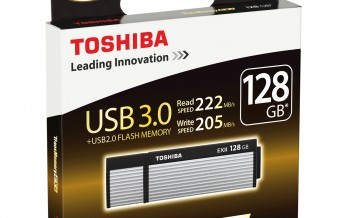 Toshiba THNV64OSUSILV Transmemory-EX II 64GB Speicherstick USB 3.0