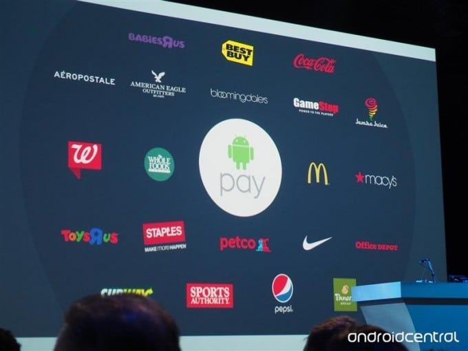Google I/O: Android Pay vorerst in 700.000 Stores google Google I/O 2015: alle interessanten News zusammengefasst android pay retailers io 2015 680x510