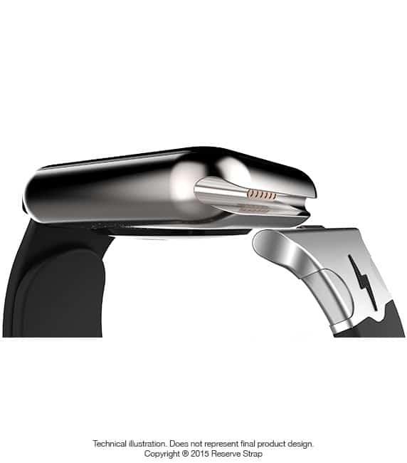 Reserve Strap hält Akku der Apple Watch länger voll Apple Watch Reserve Strap verlängert Laufzeit der Apple Watch port2