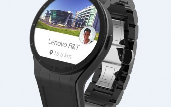 Magic-View: Lenovo präsentiert Smartwatch mit zweitem Display