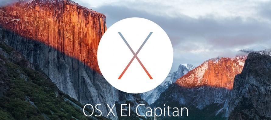 OS X El Capitan bekommt Window Management und erinnert an Windows