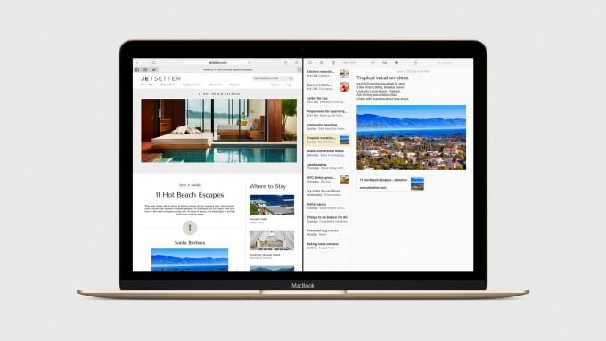 Split-Screen kommt mit OS X El Capitan auch auf den Mac os x el capitan OS X El Capitan bekommt Window Management und erinnert an Windows 2067d20588dcfc2148a2eacf5cc45c7769741bbe expanded large 2x 680x383