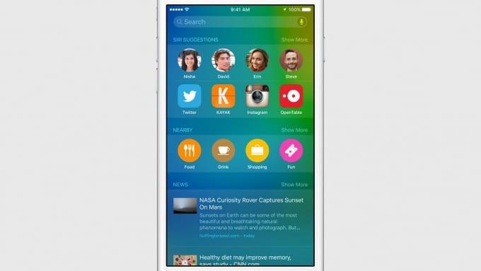 Proactive in iOS 9 dient mit neuen Spotlight Möglichkeiten ios 9 iOS 9 bekommt Proactive und wird intelligenter d82072ec4d1d94f99f755ecdf22bd3ce9384d983 expanded large 2x 680x383